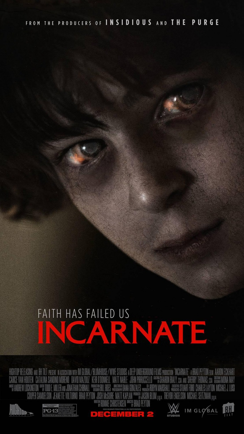 Image result for incarnate movie poster
