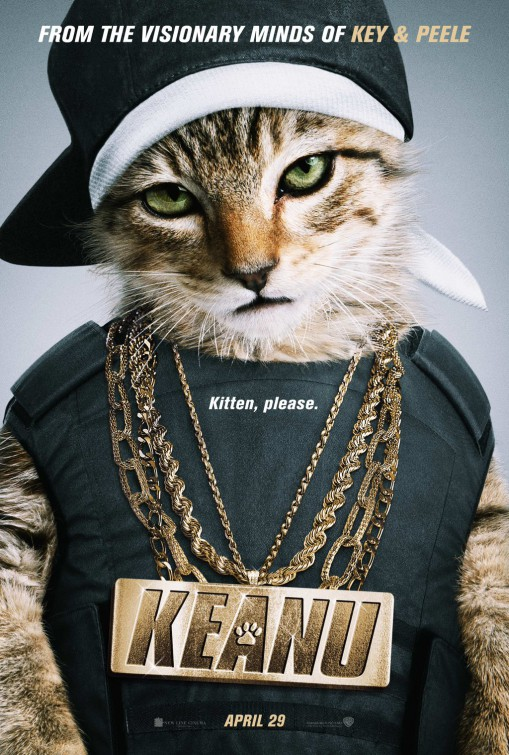 Image result for keanu movie poster