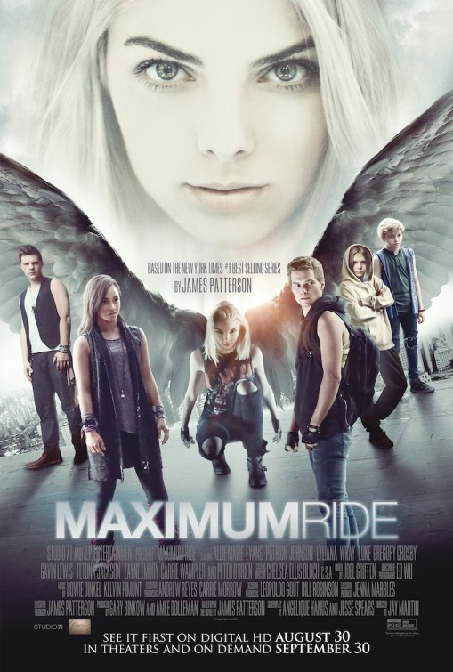Image result for Maximum Ride movie poster
