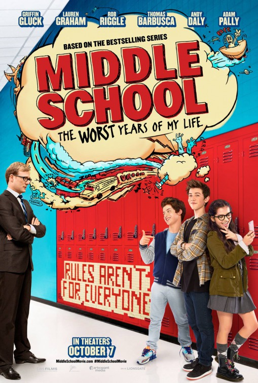 Image result for middle school movie poster