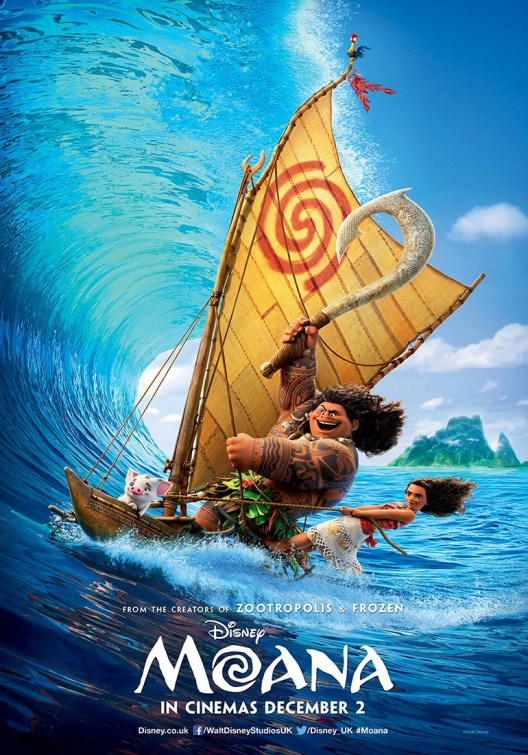 Image result for moana movie poster