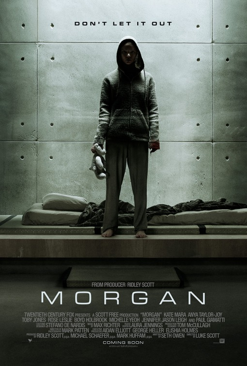 Image result for Morgan movie poster