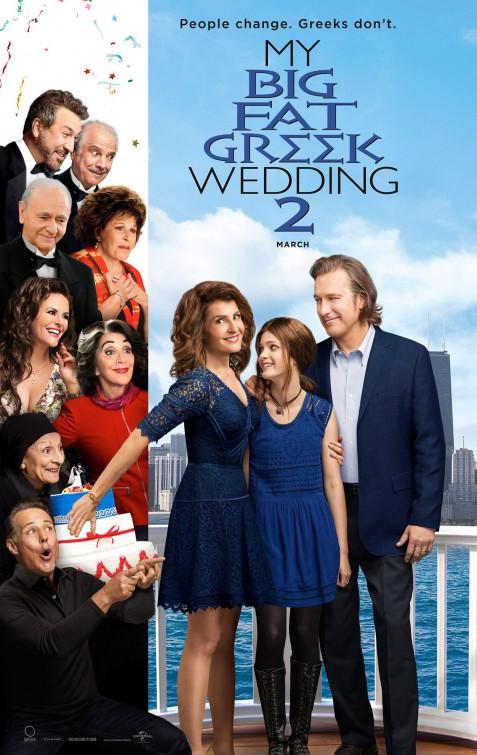 Image result for my big fat greek wedding 2 movie poster