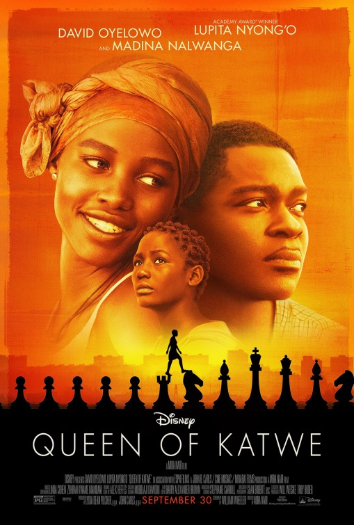 Image result for queen of katwe movie poster
