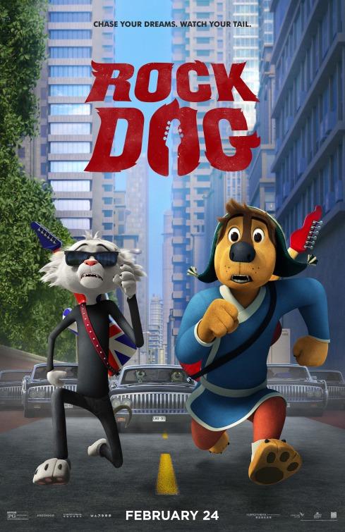 Image result for rock dog movie poster