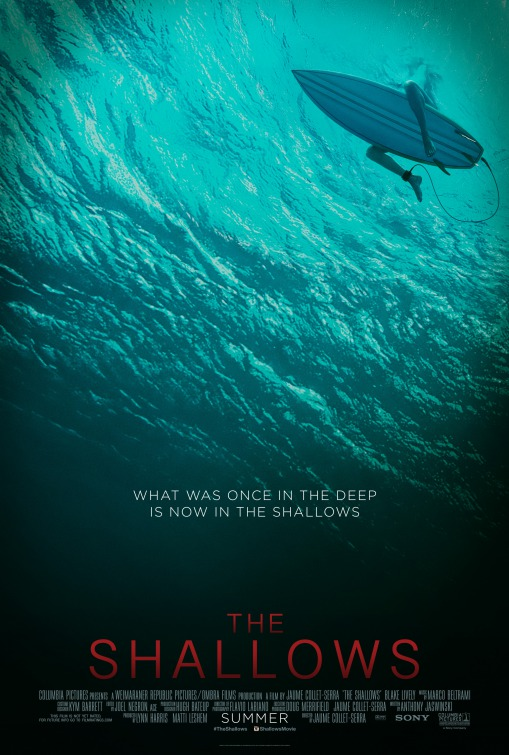 Image result for the shallows poster