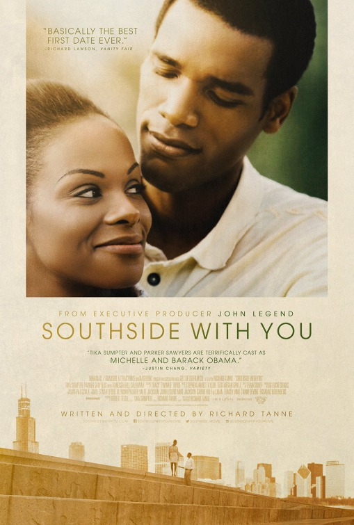 Image result for Southside With you movie poster