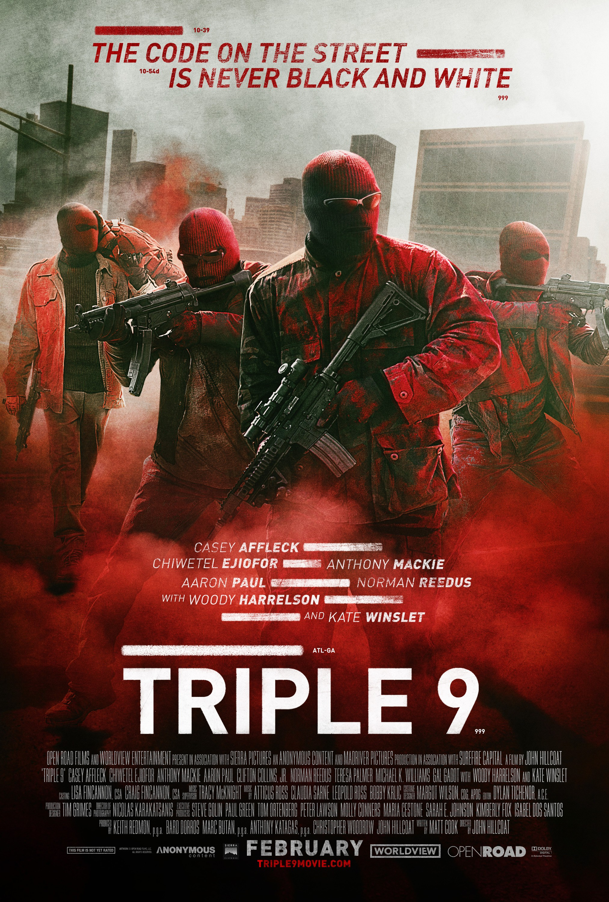 Image result for triple 9movie poster