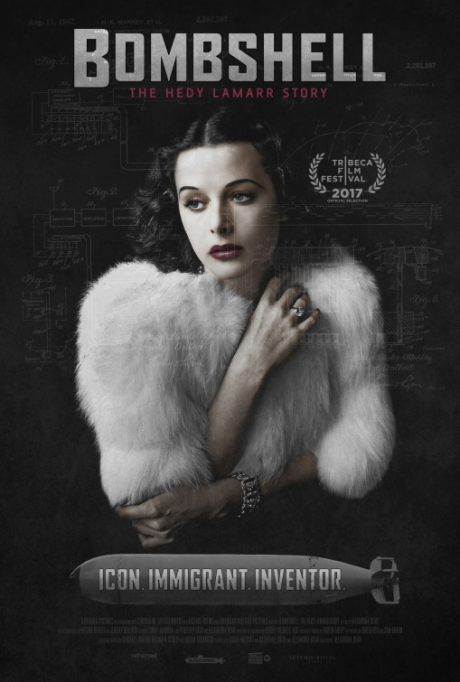 Bombshell: The Hedy Lamarr Story Movie Poster