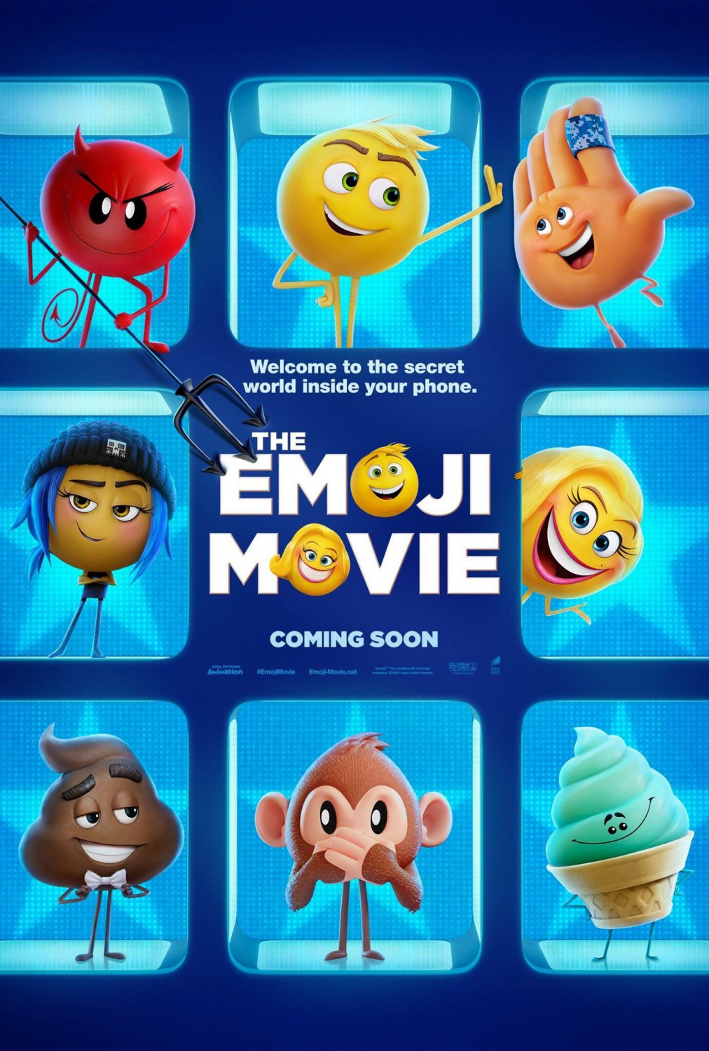 Image result for Emoji movie movie poster