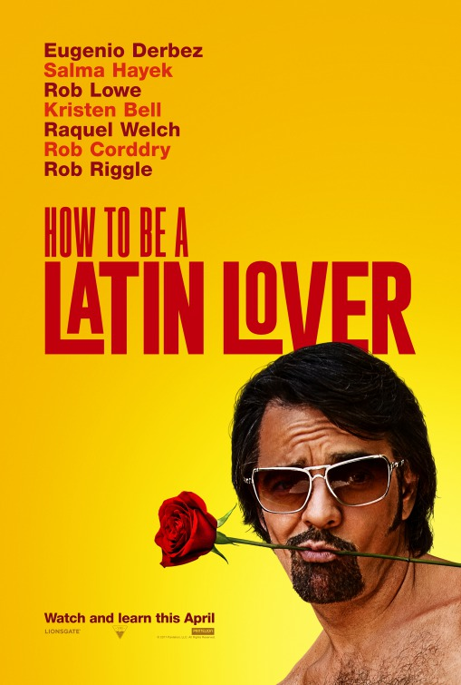 Image result for how to be a latin lover movie poster