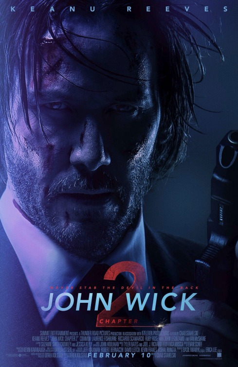 Image result for john wick 2 poster