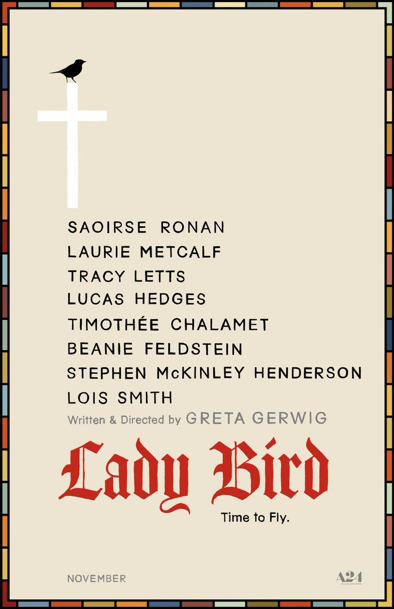 Extra Large Movie Poster Image for Lady Bird (#1 of 2)