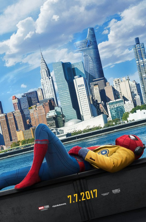 Image result for spider man homecoming movie poster