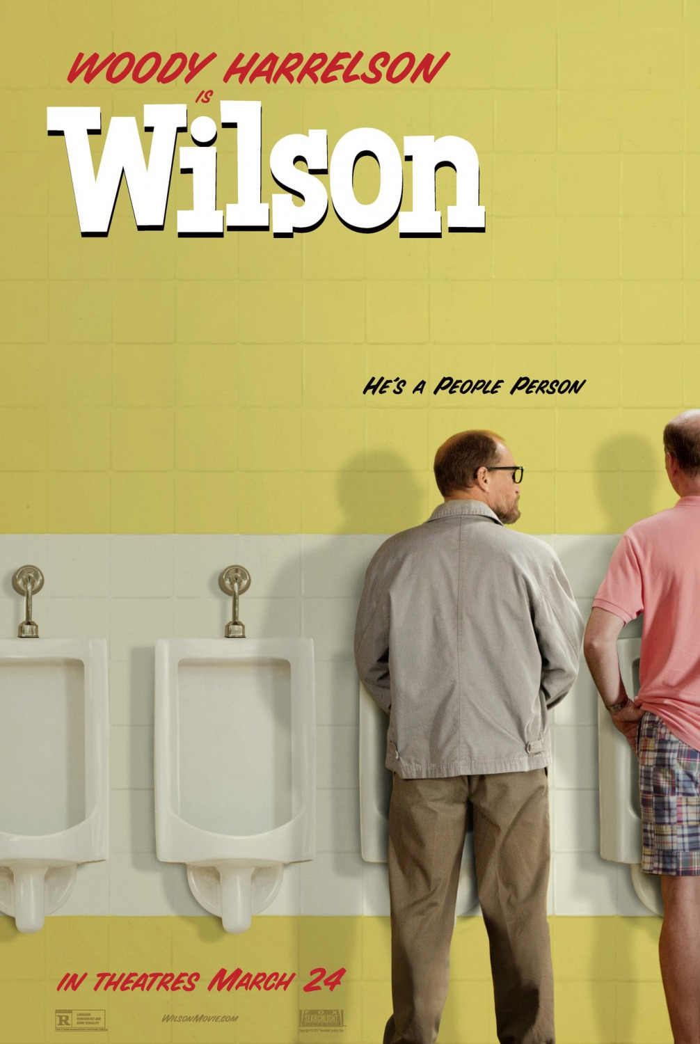 Image result for Wilson movie poster