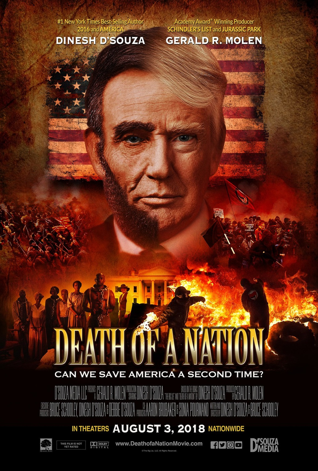 Extra Large Movie Poster Image for Death of a Nation