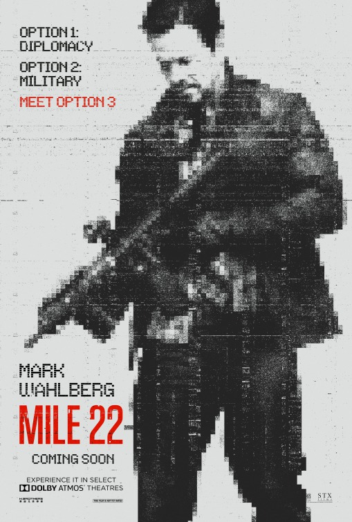 Filmposter - Mile 22 - 2018
