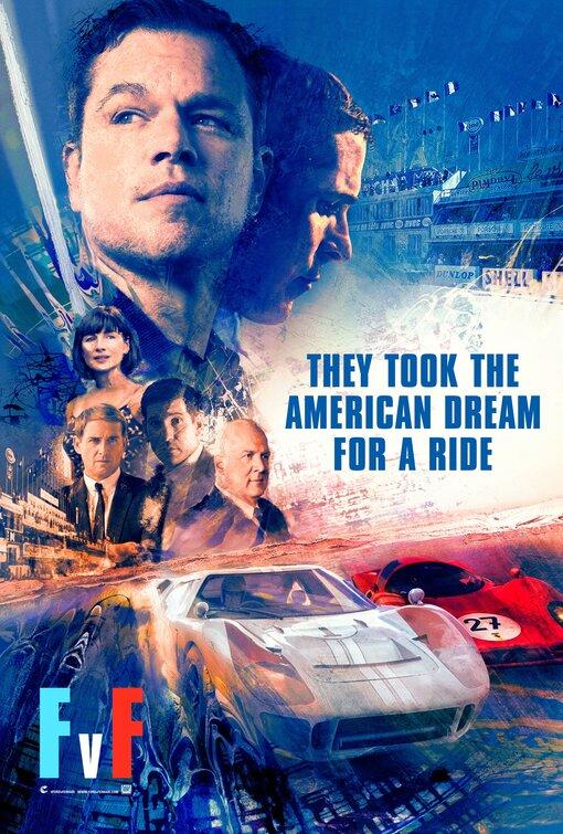 Ford v. Ferrari Movie Poster