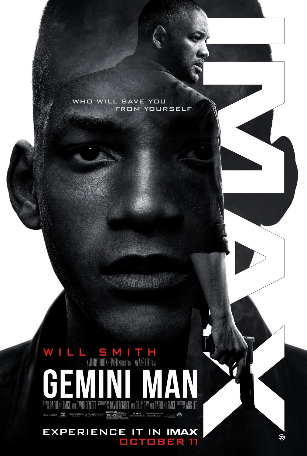 Extra Large Movie Poster Image for Gemini Man (#4 of 6)