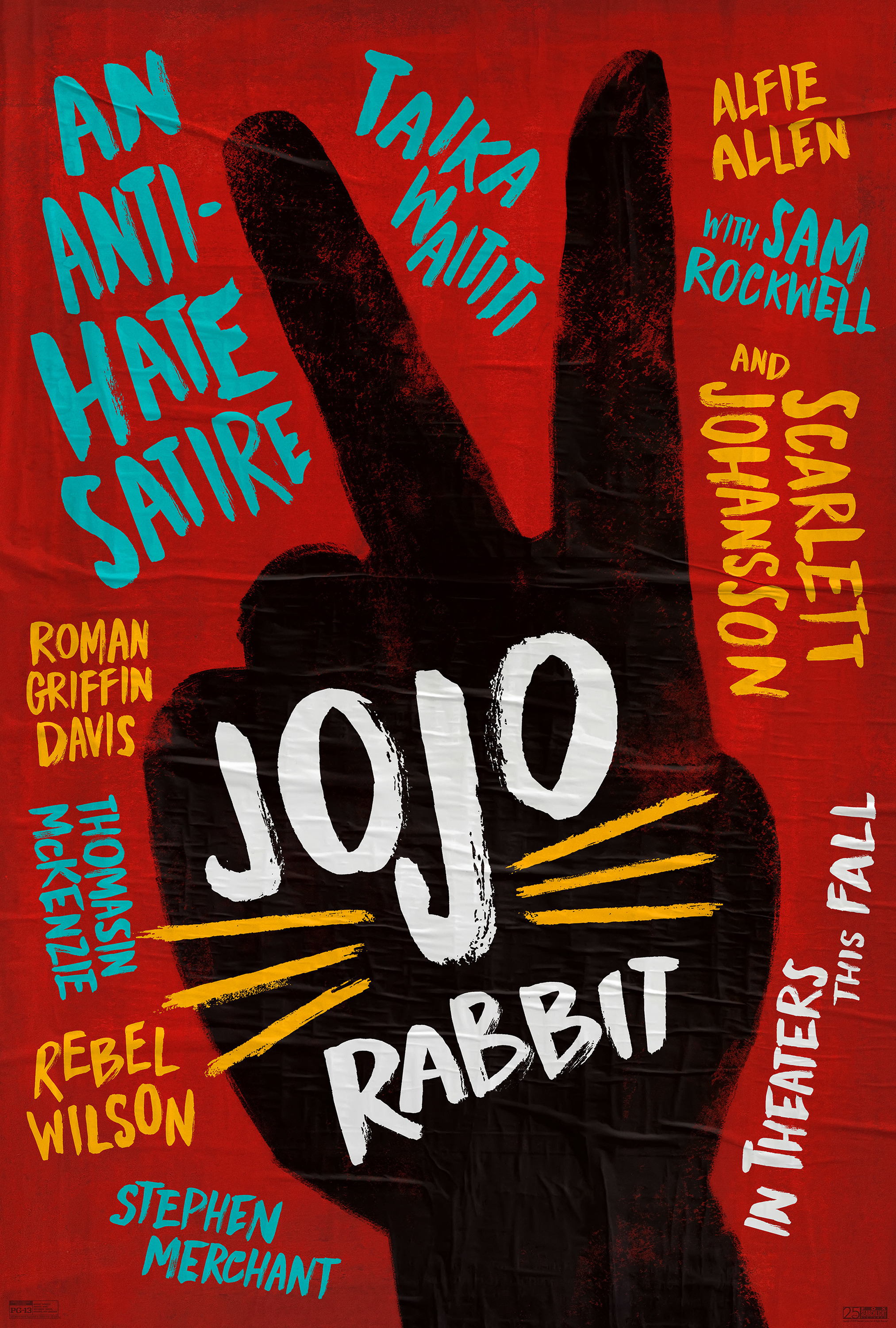 Mega Sized Movie Poster Image for Jojo Rabbit (#1 of 2)