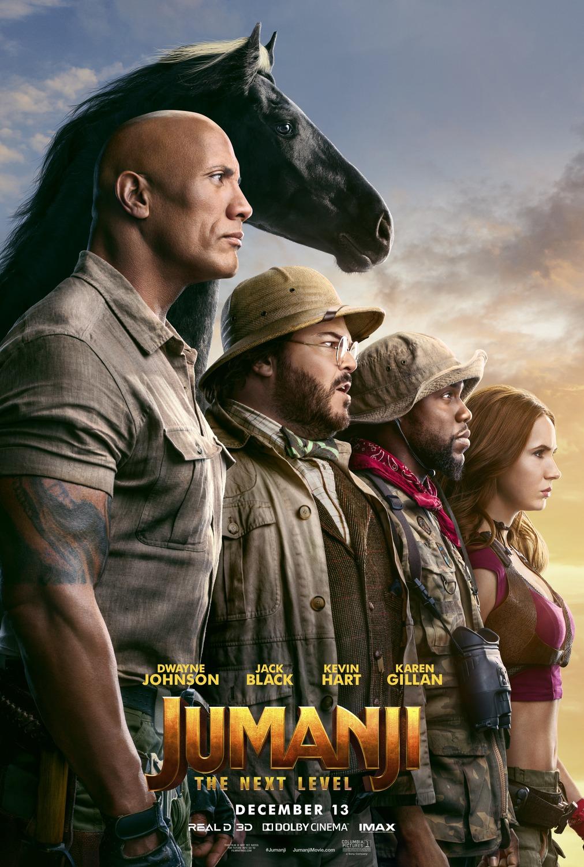 Extra Large Movie Poster Image for Jumanji: The Next Level (#3 of 3)