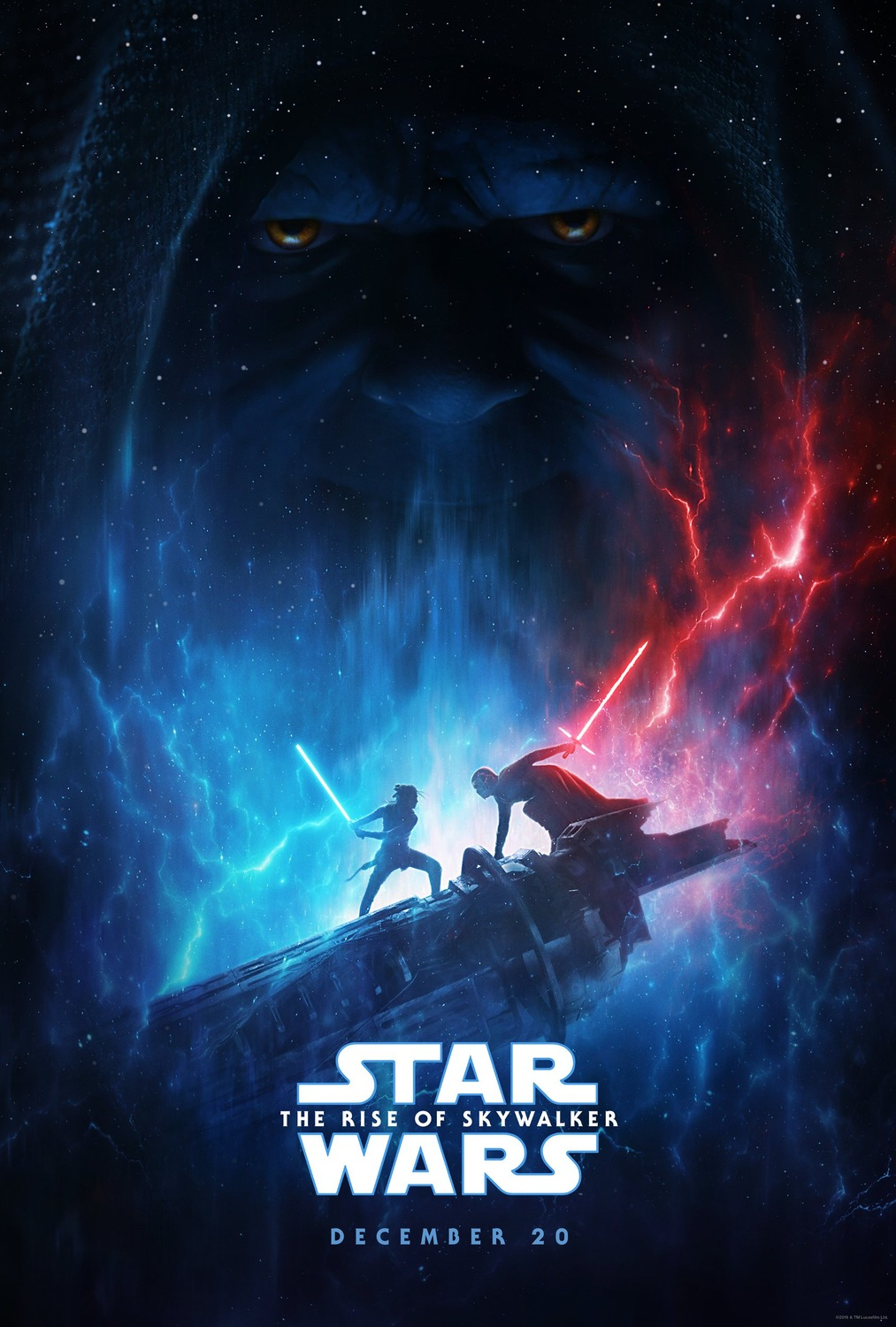 Extra Large Movie Poster Image for Star Wars: The Rise of Skywalker (#2 of 2)