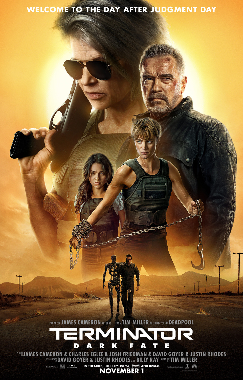 Extra Large Movie Poster Image for Terminator: Dark Fate (#3 of 13)