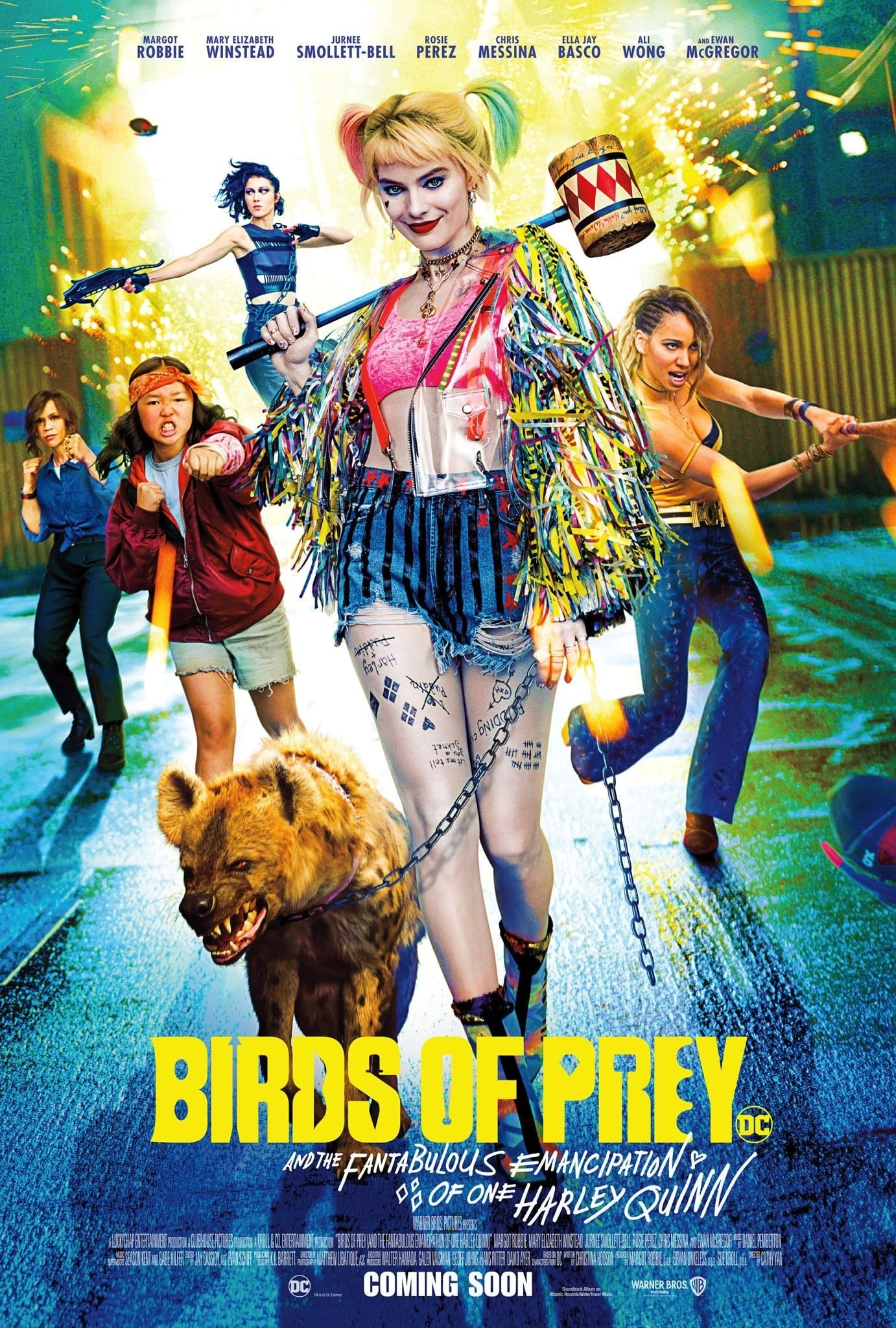 Mega Sized Movie Poster Image for Birds of Prey (And the Fantabulous Emancipation of One Harley Quinn) (#15 of 18)