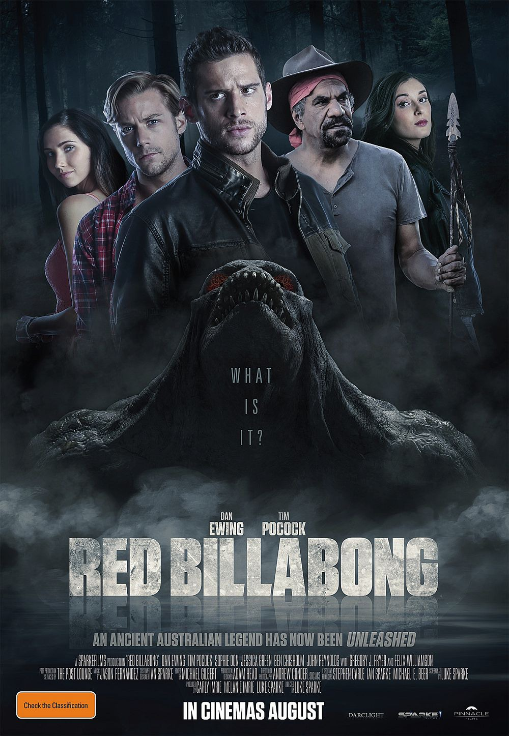 Extra Large Movie Poster Image for Red Billabong