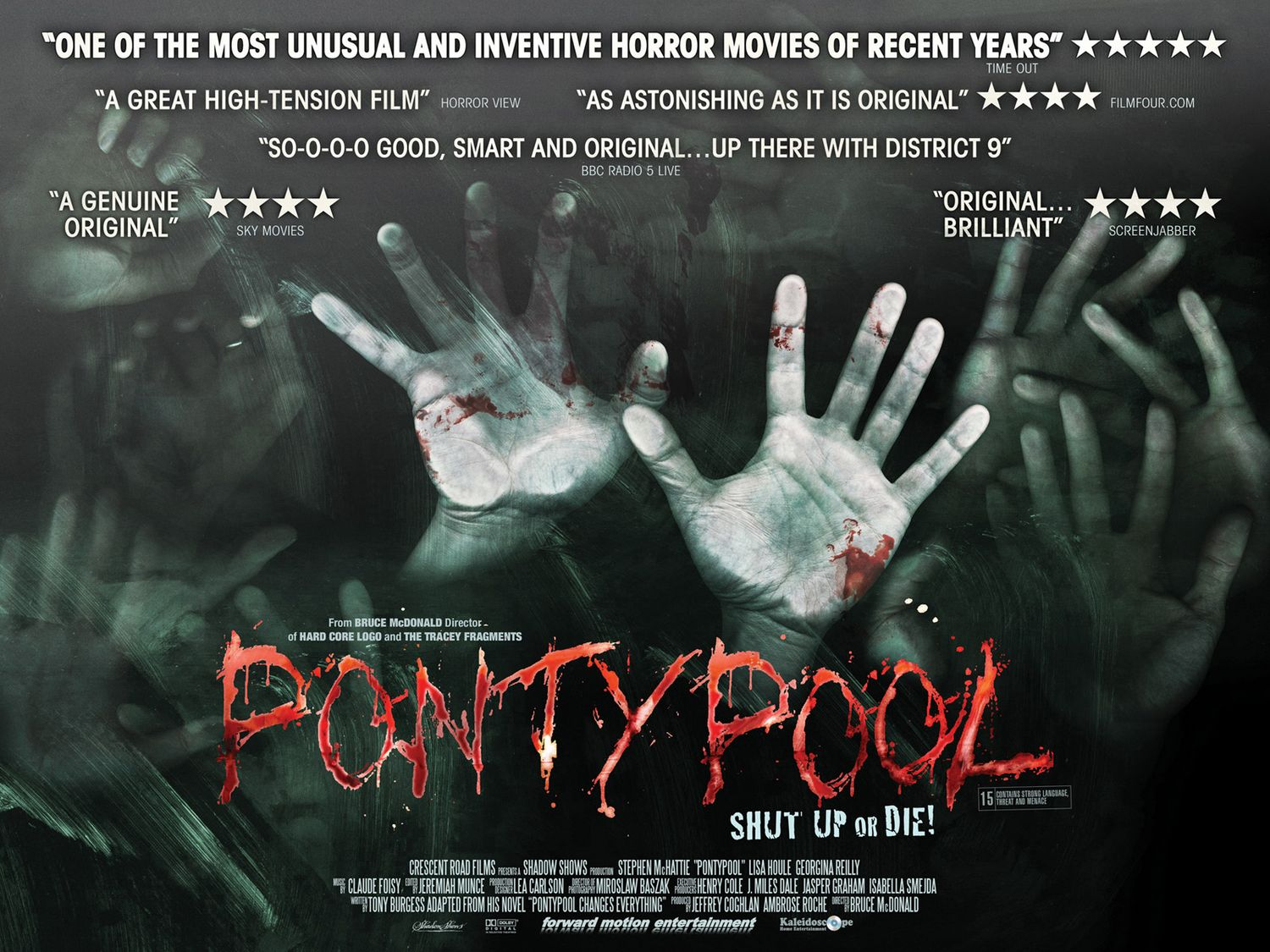 Image result for pontypool movie poster