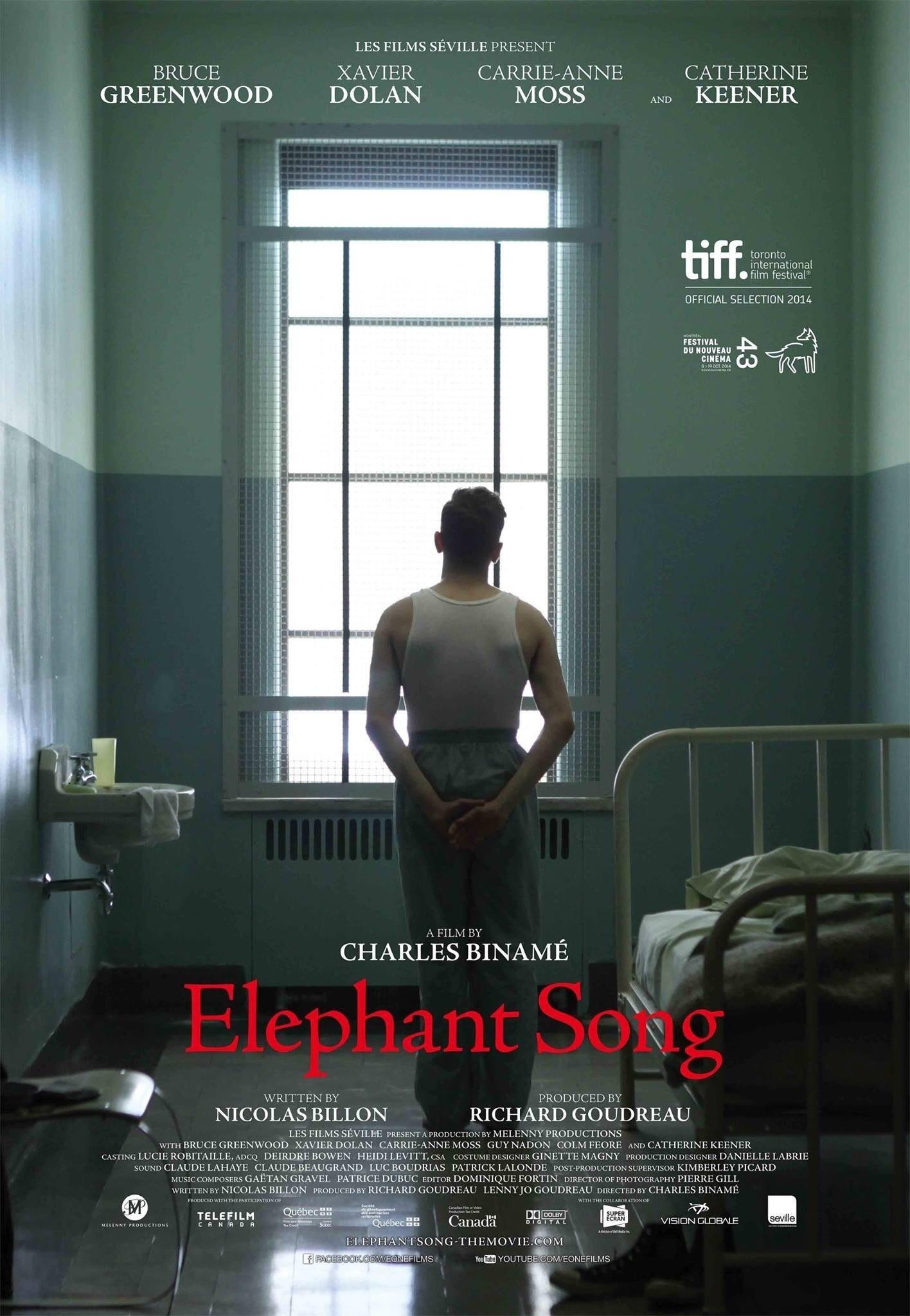 Poster do filme Elephant Song