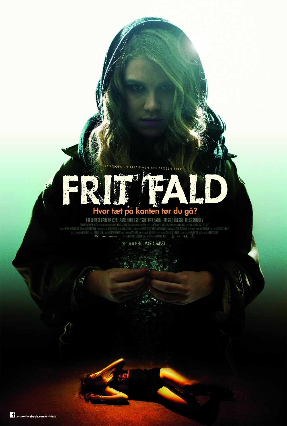 Extra Large Movie Poster Image for Frit fald
