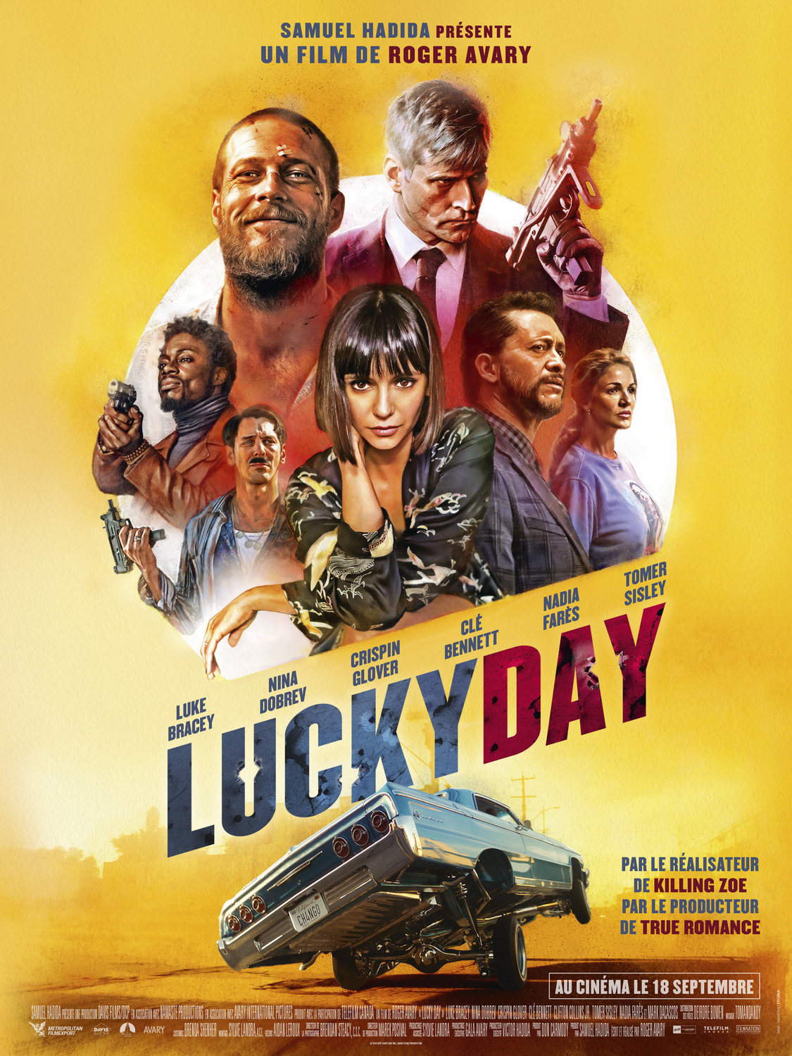Extra Large Movie Poster Image for Lucky Day