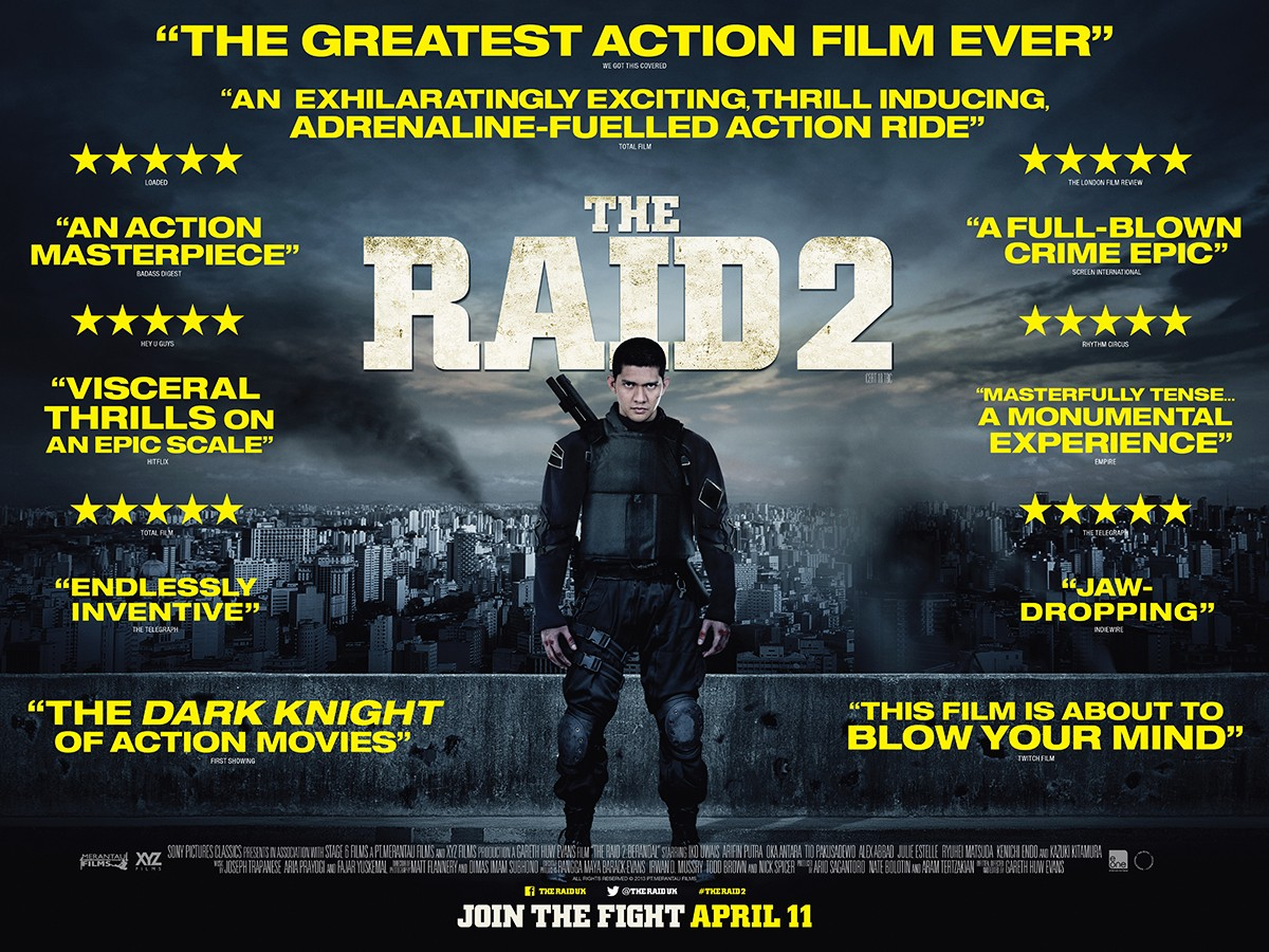 Extra Large Movie Poster Image for The Raid 2: Berandal (#4 of 6)