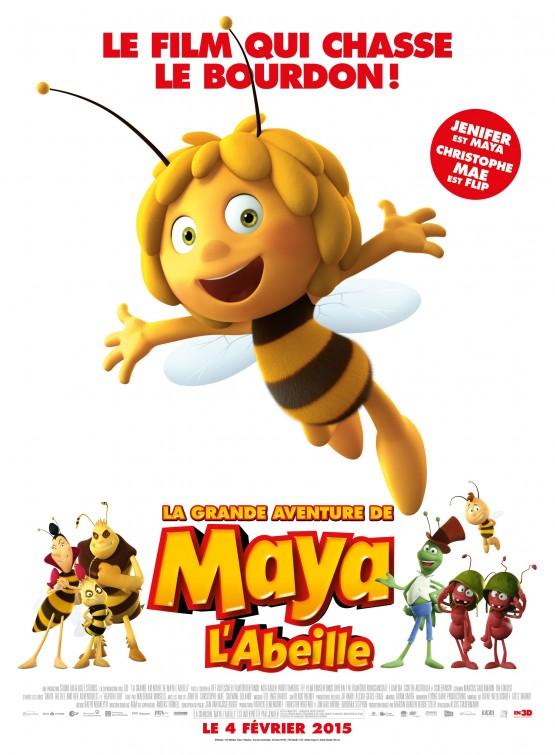 Maya The Bee Movie Movie Poster 2 Of 4 Imp Awards