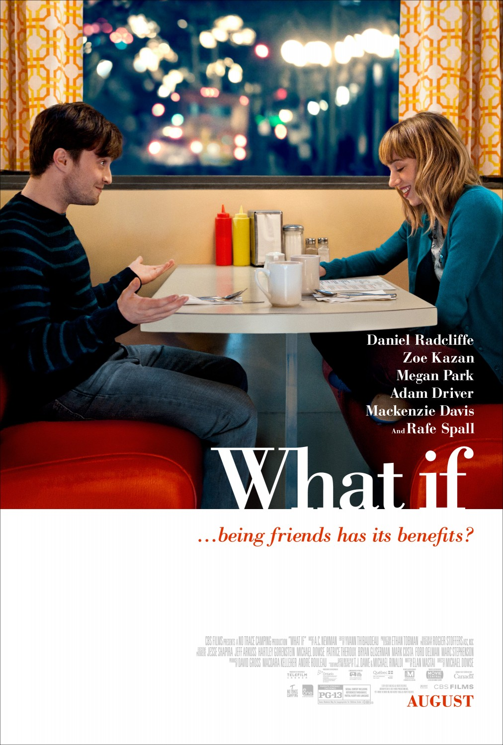 Extra Large Movie Poster Image for What If