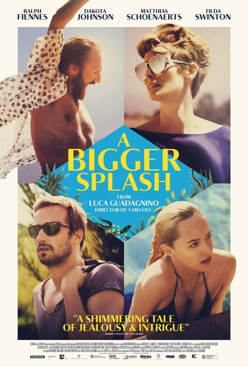 Image result for a bigger splash movie poster imp