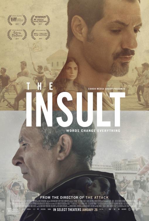 L'insulte Movie Poster