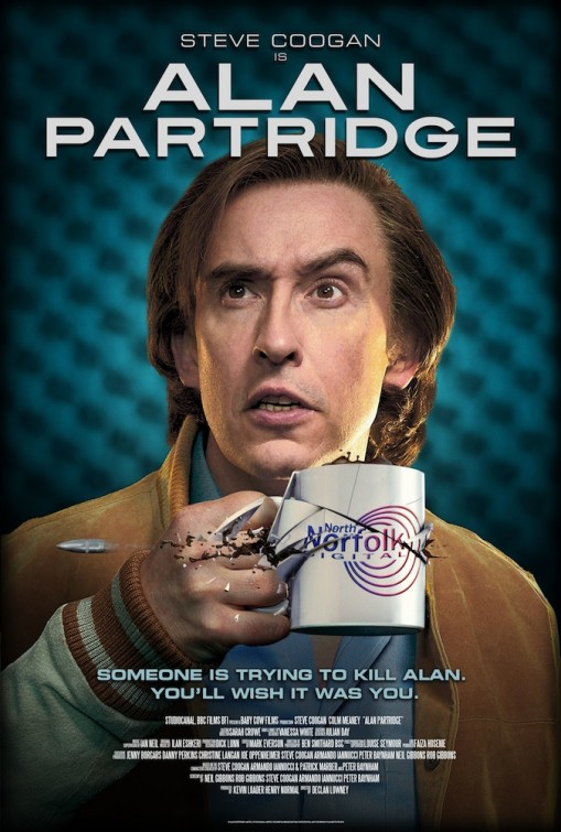 Poster do filme Alan Partridge: Alpha Papa