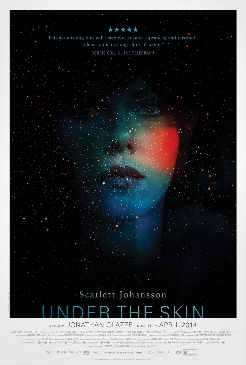 Extra Large Movie Poster Image for Under the Skin