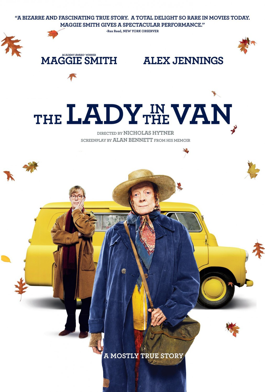 Image result for the lady in the van movie poster
