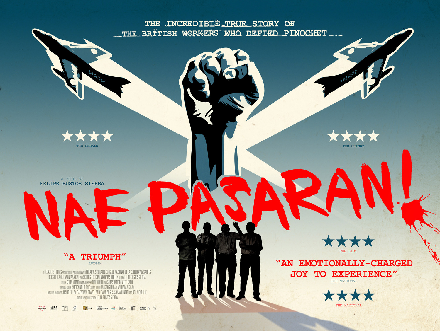 Extra Large Movie Poster Image for Nae Pasaran