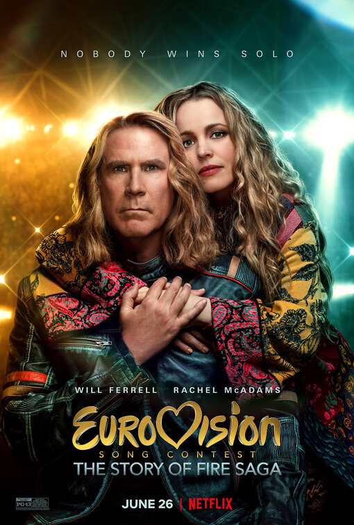 Eurovision Song Contest: The Story of Fire Saga Movie Poster