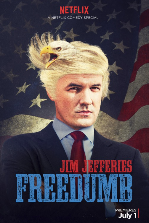 Poster do filme Jim Jefferies: FreeDumb