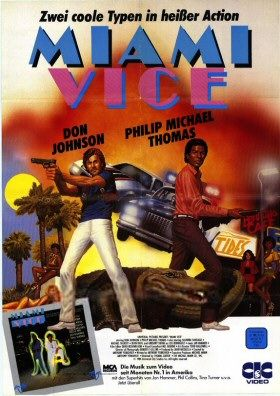 Miami Vice Movie Poster