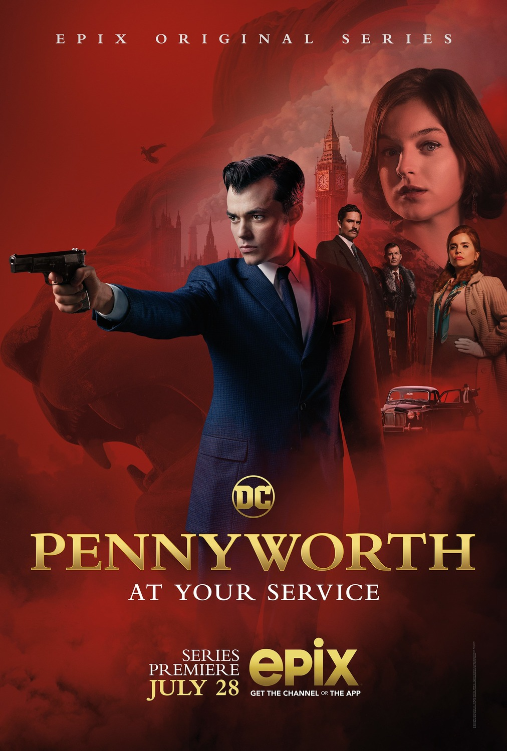 Extra Large Movie Poster Image for Pennyworth