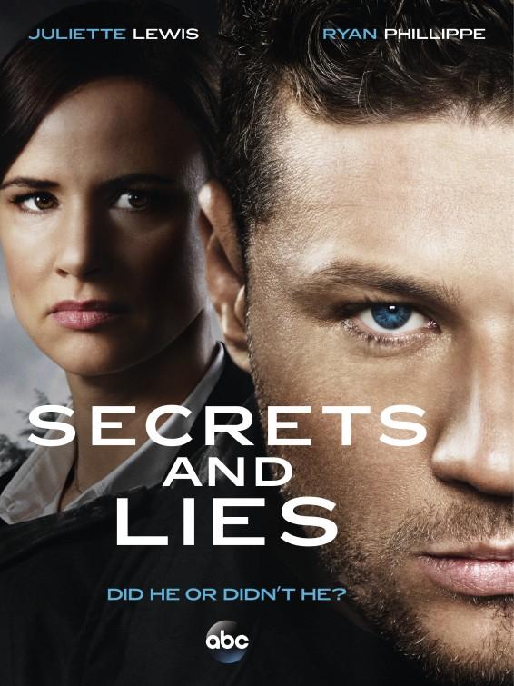 Resultado de imagem para secrets and lies poster