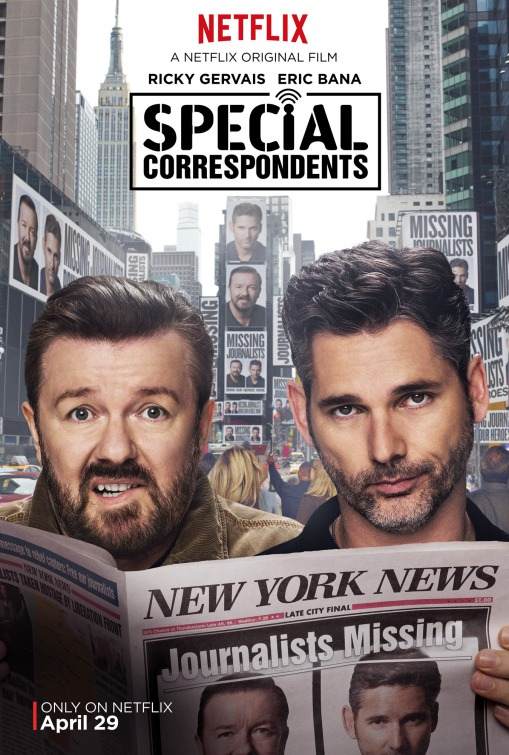 Special Correspondents Movie Poster