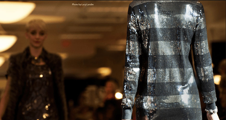 Image of Fashion Show Silver Jacket