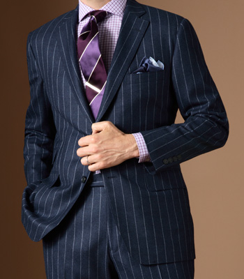 Image of Pinstripe Suit